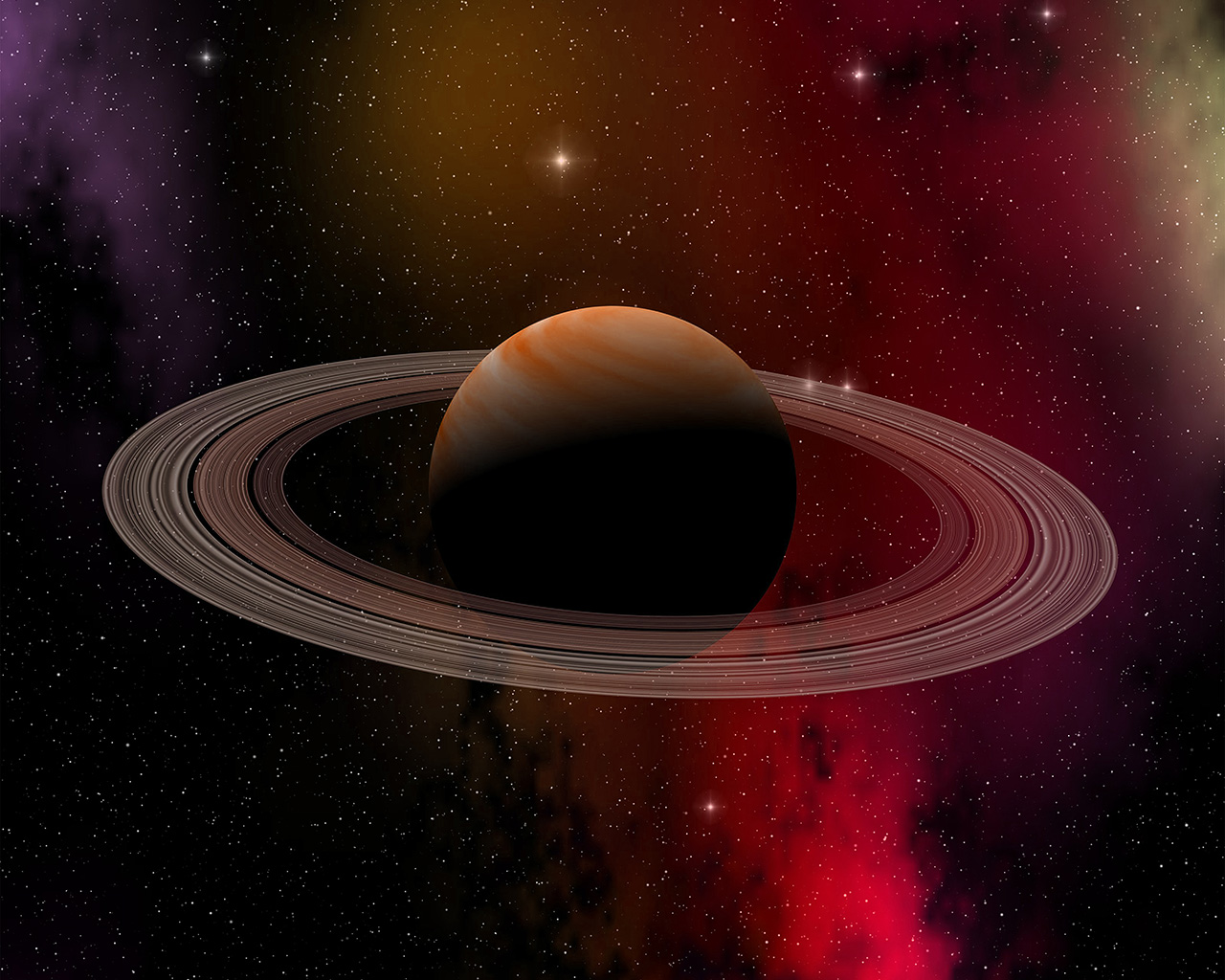at79-space-planet-saturn-star-art-illustration-red-wallpaper
