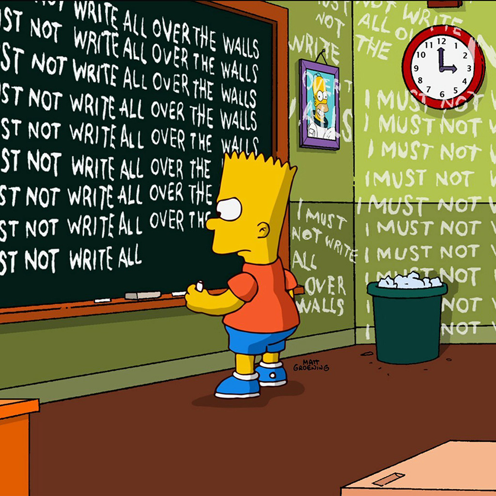 wallpaper-at91-bart-simpson-simsons-catoon-school-art-illustration-wallpaper