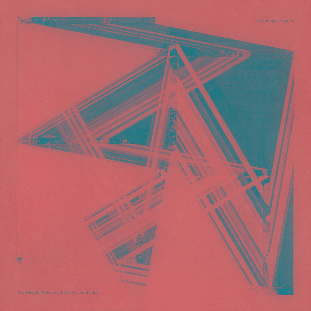 I Love Papers Au05 Music Cover Art Blue Pink Death Cab For Cutie