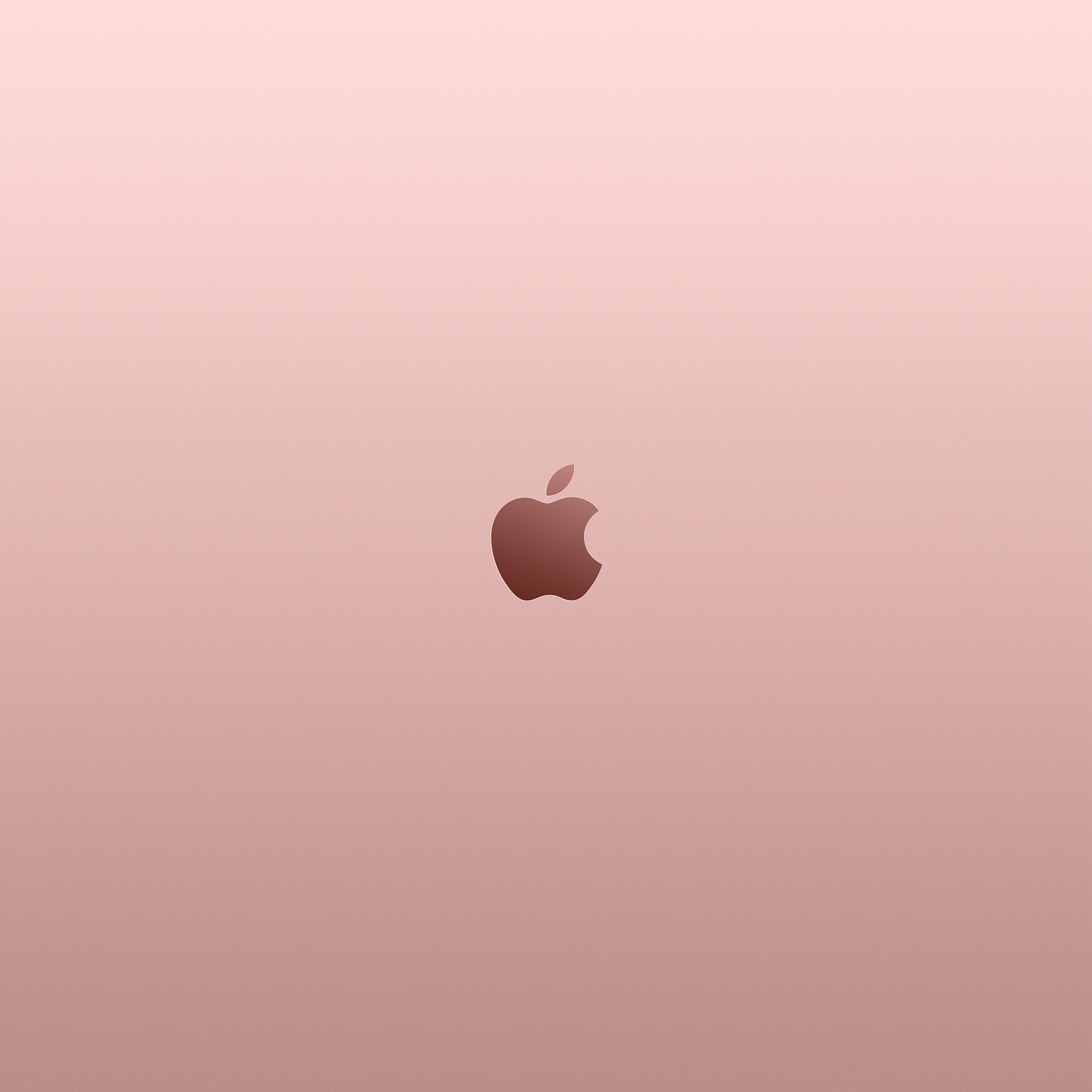 Au11 Apple Pink Rose Gold Minimal Illustration Art Wallpaper