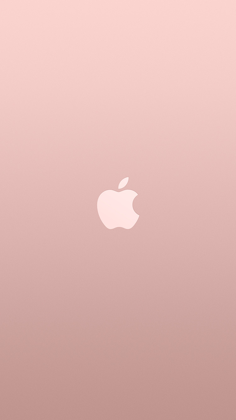 iPhone7papers.com-Apple-iPhone7-iphone7plus-wallpaper-au15-logo-apple-pink-rose-gold-white-minimal-illustration-art