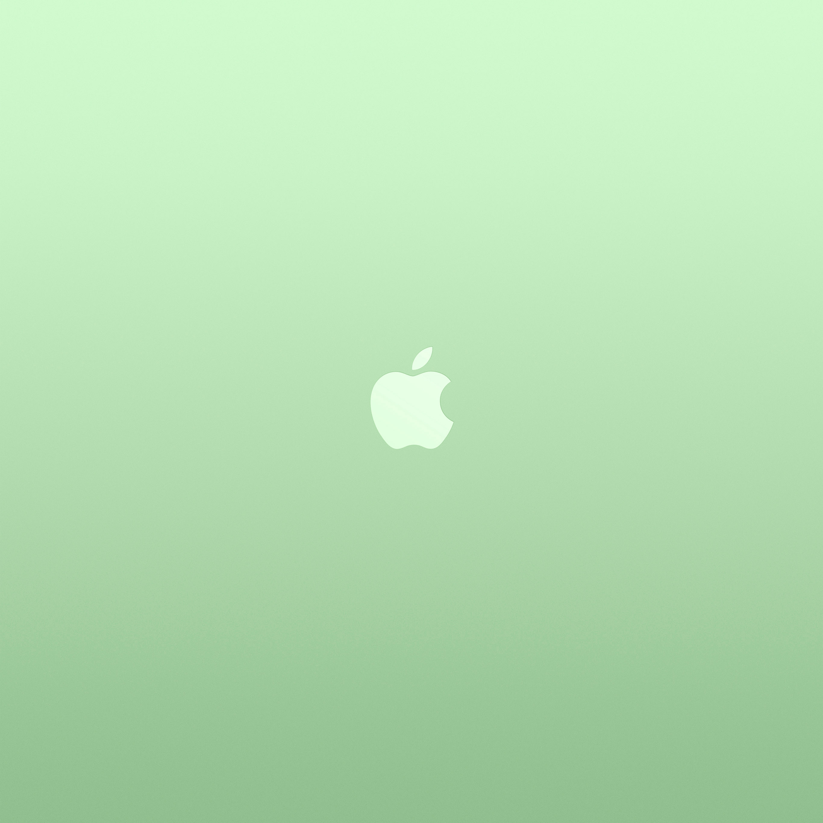 Android wallpaper au18 logo apple green for Art minimal color