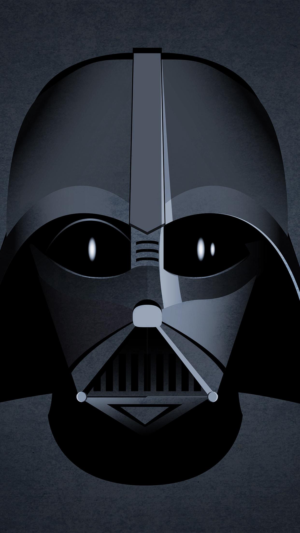 Au27 Starwars Darth Vader Face Dark Illustration Art Hero Wallpaper