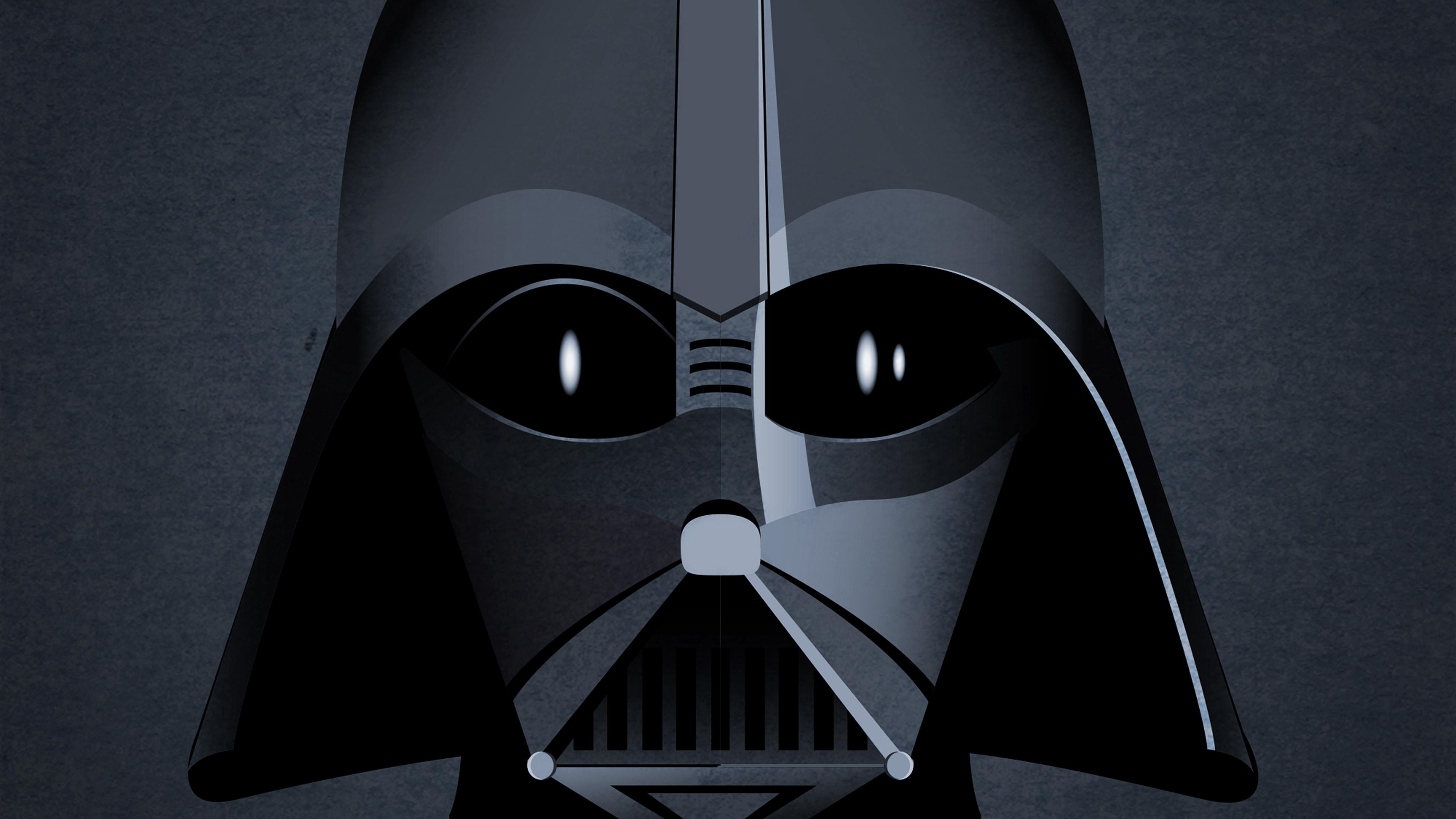 Papers Co Desktop Wallpaper Au27 Starwars Darth Vader Face Dark