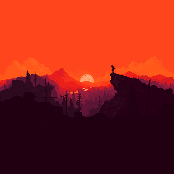 iPapers.co-Apple-iPhone-iPad-Macbook-iMac-wallpaper-au35-nature-sunset-simple-minimal-illustration-art-red-wallpaper