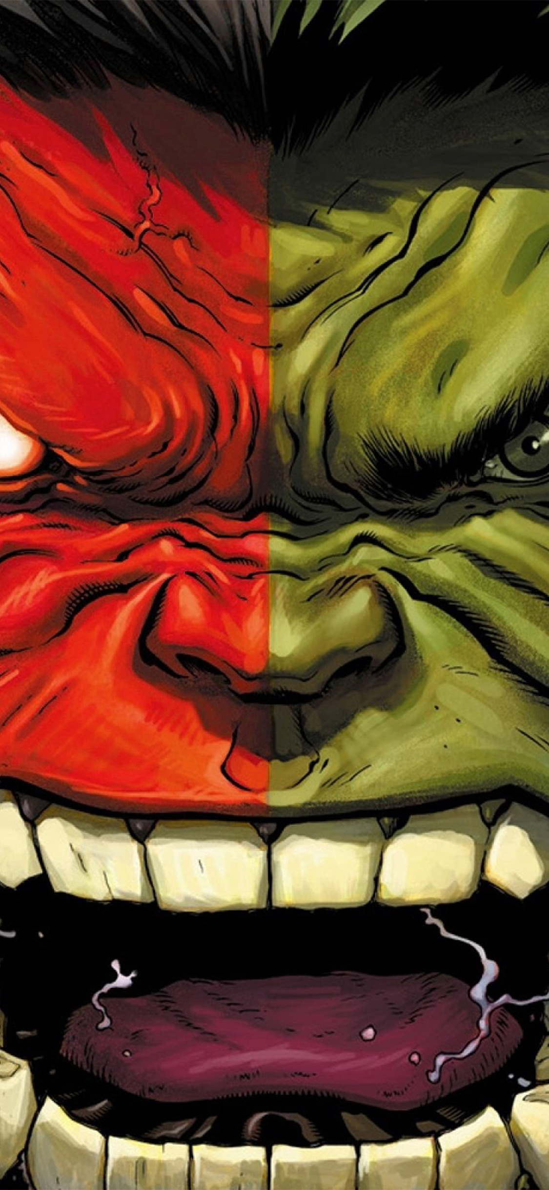 Iphonexpapers Com Iphone X Wallpaper Au36 Hulk Red Anger