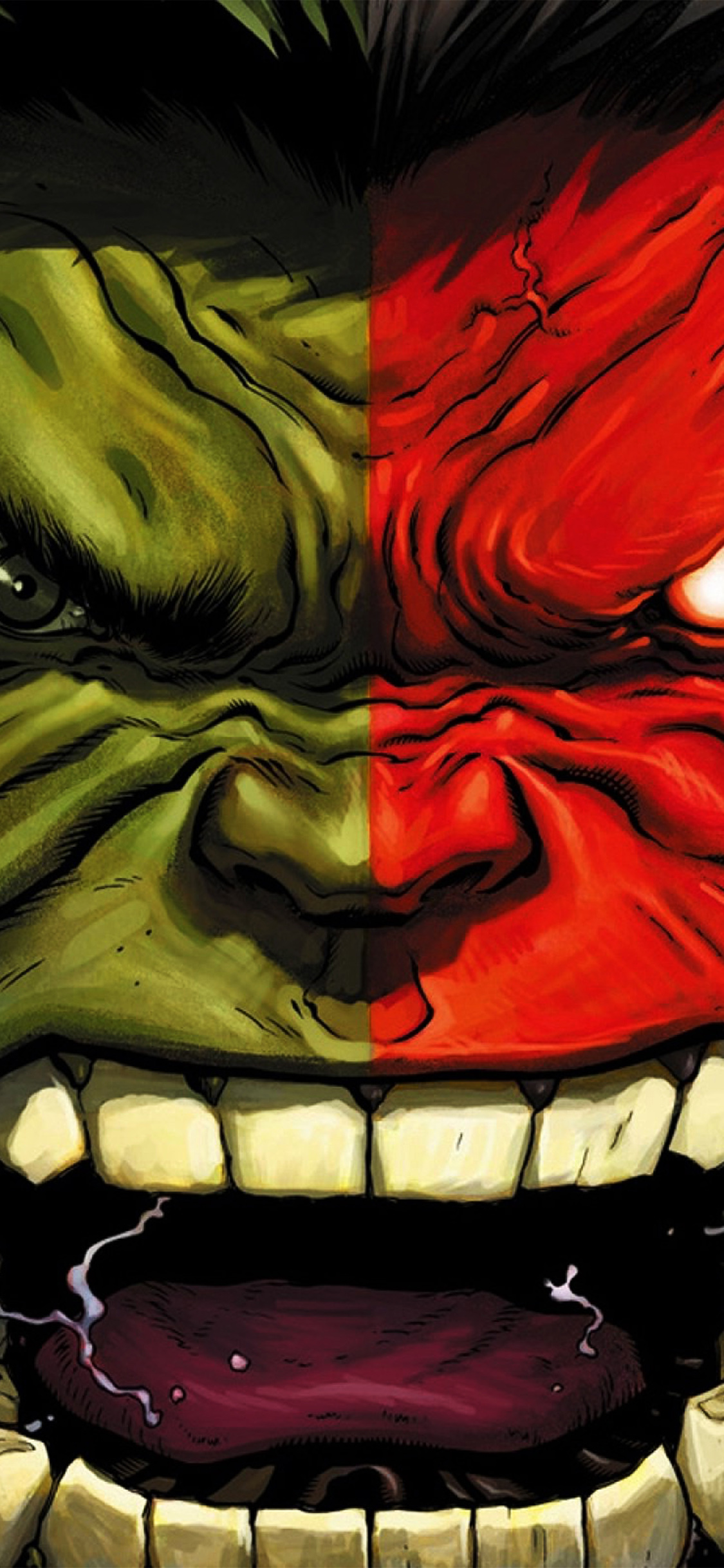 iPhoneXpapers.com-Apple-iPhone-wallpaper-au37-hulk-red-anger-cartoon-illustration-art-dark
