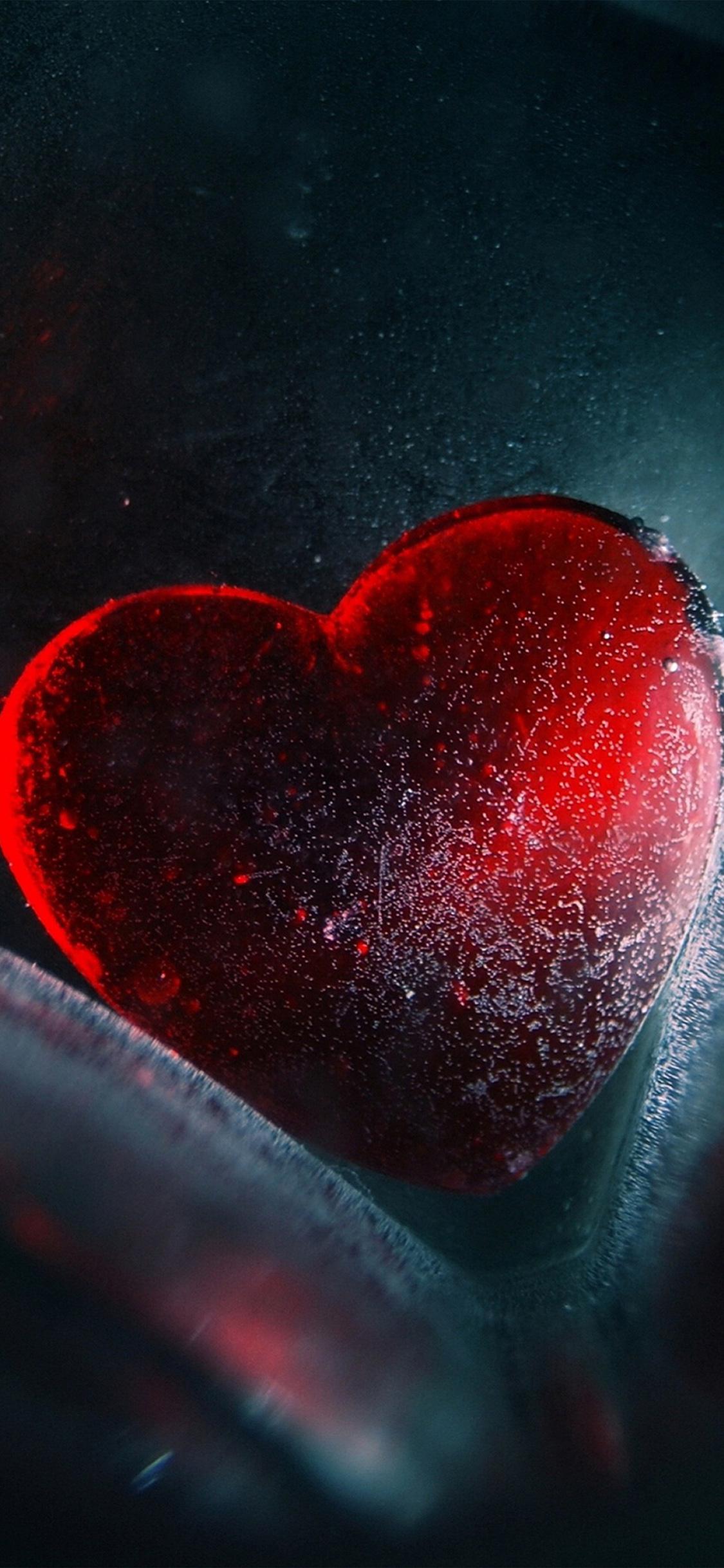Au41 Heart Red Love Illustration Art Wallpaper