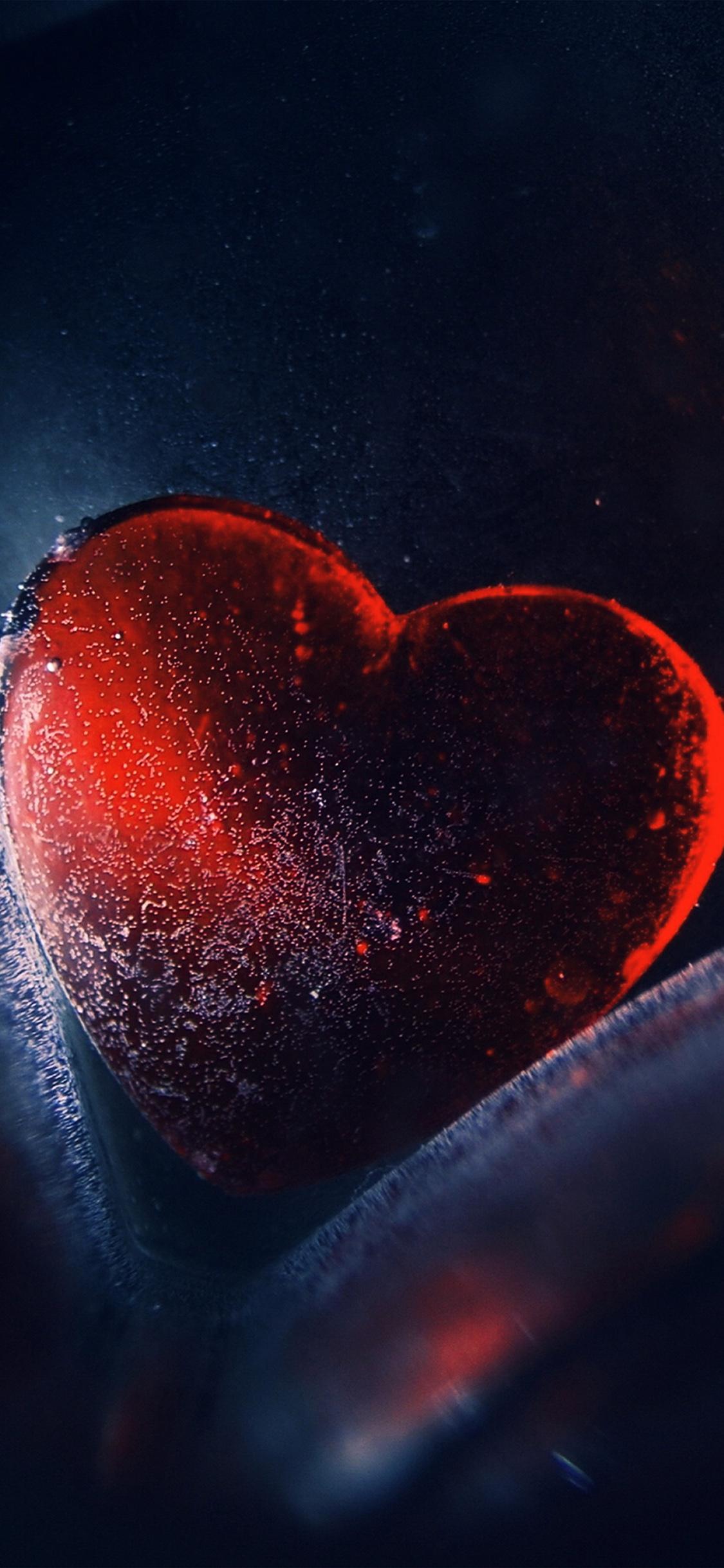 iPhoneXpapers.com-Apple-iPhone-wallpaper-au42-heart-red-love-illustration-art-blue