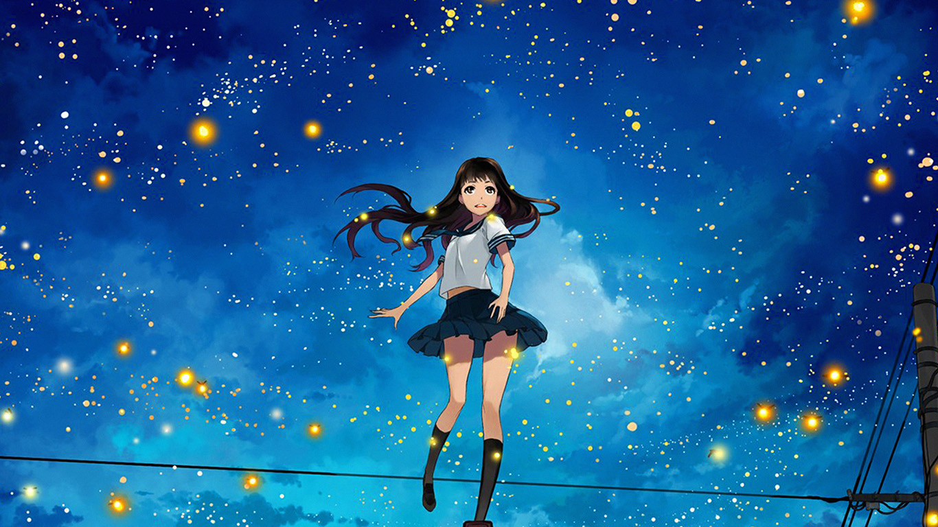 desktop-wallpaper-laptop-mac-macbook-air-au46-girl-anime-star-space-night-illustration-art-wallpaper