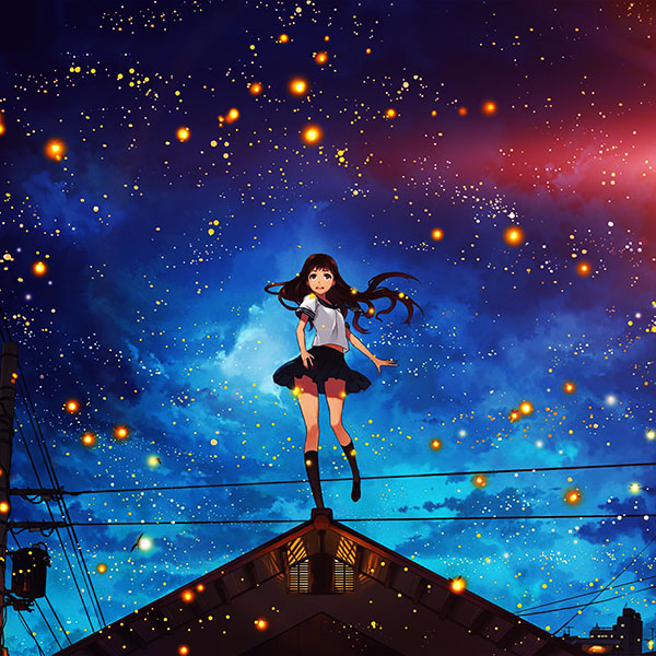 iPapers.co-Apple-iPhone-iPad-Macbook-iMac-wallpaper-au47-girl-anime-star-space-night-illustration-art-flare-wallpaper