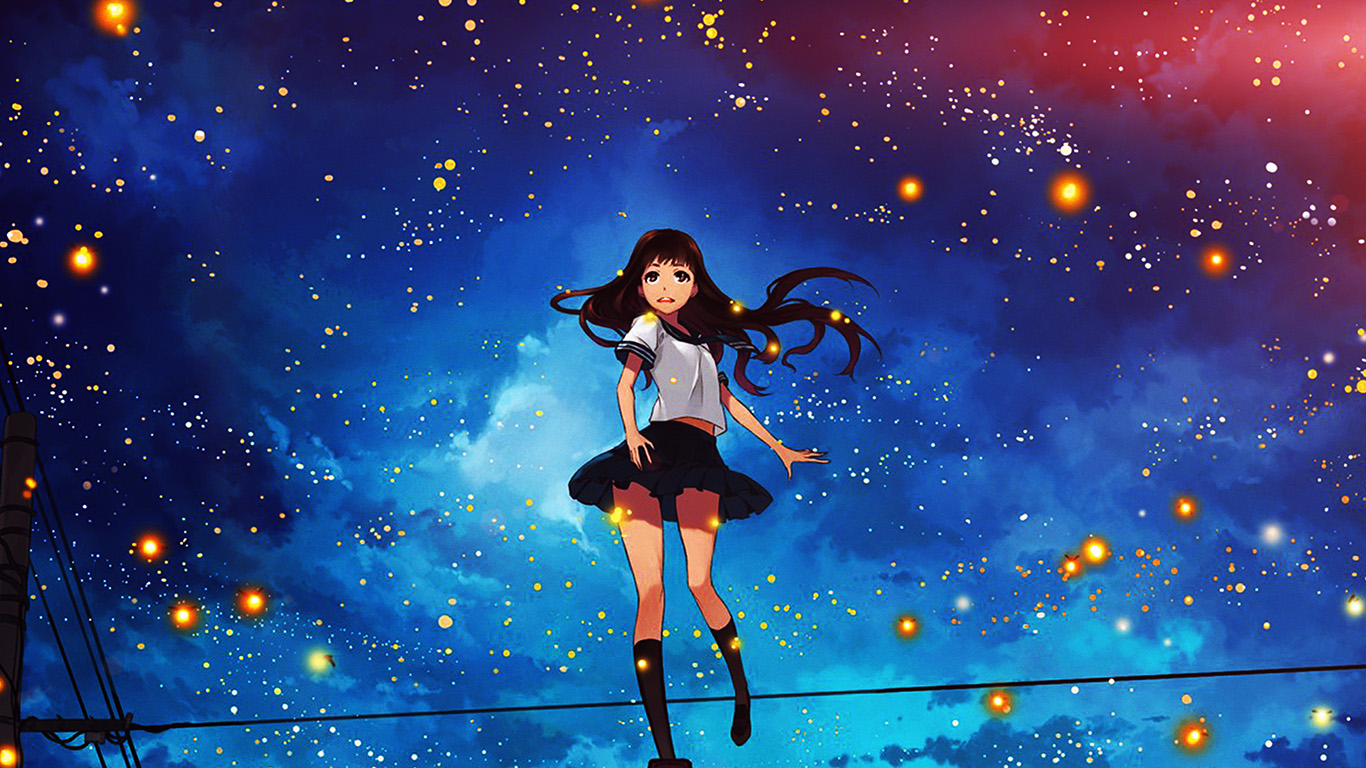 desktop-wallpaper-laptop-mac-macbook-air-au47-girl-anime-star-space-night-illustration-art-flare-wallpaper