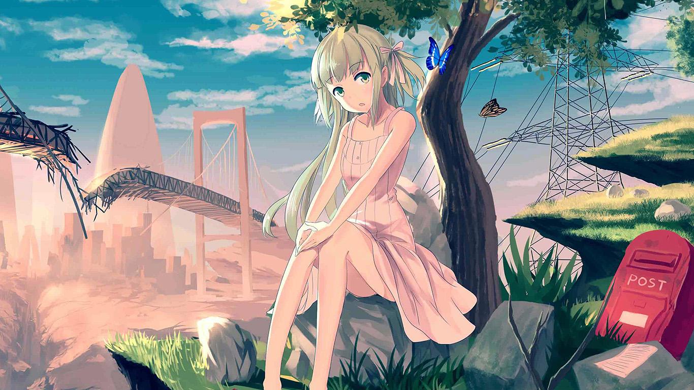 desktop-wallpaper-laptop-mac-macbook-air-au48-cute-anime-girl-sunset-illustration-art-wallpaper