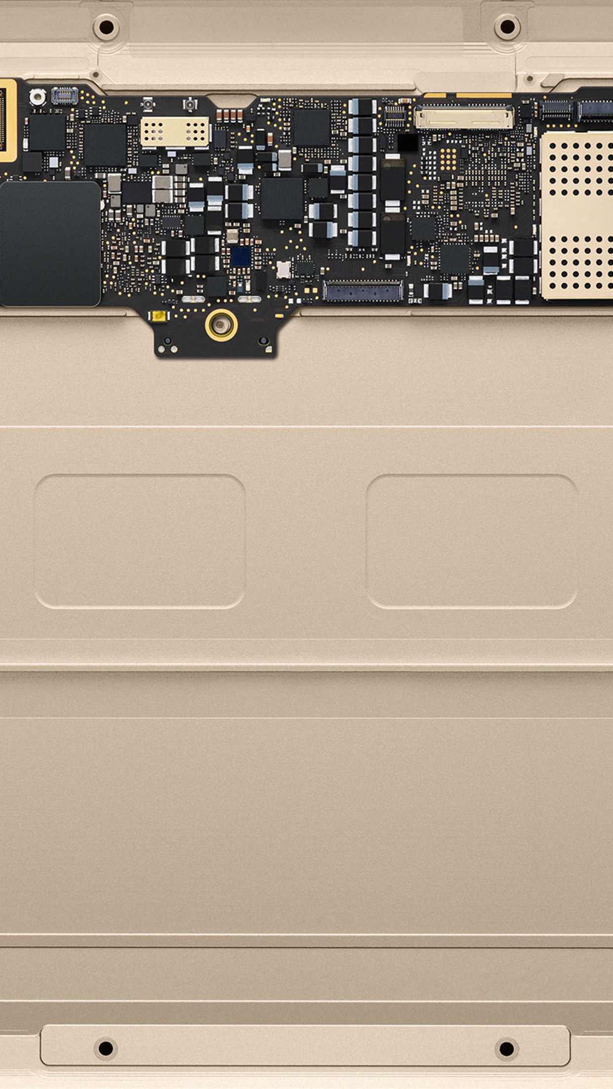 Iphone6papers Com Iphone 6 Wallpaper Au52 Inside Macbook Gold