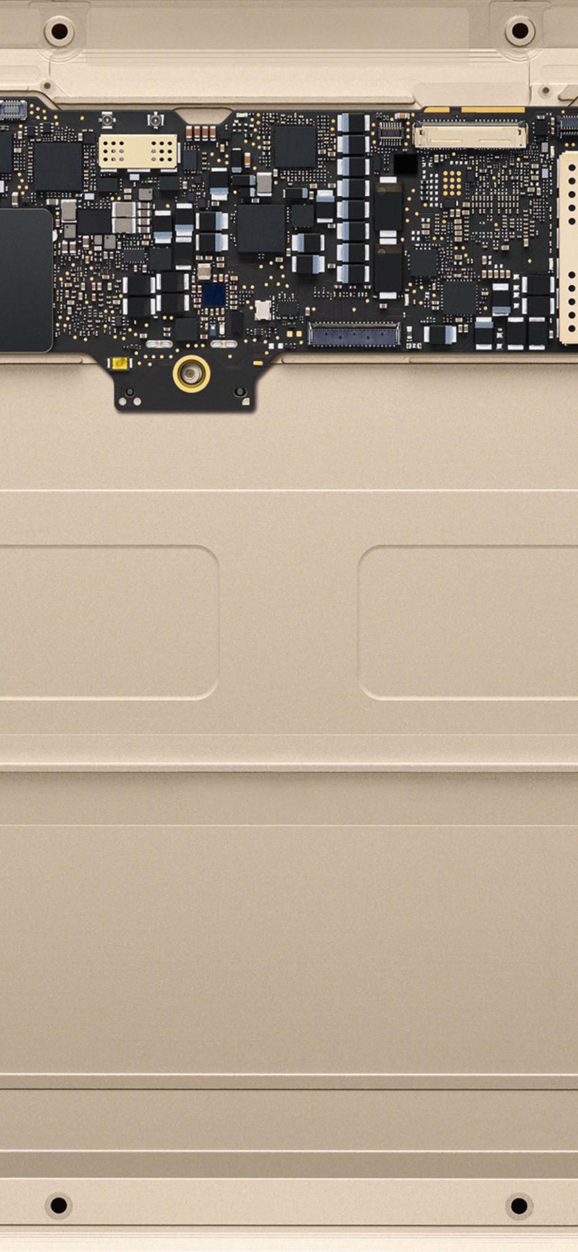 Iphonexpapers Com Iphone X Wallpaper Au52 Inside Macbook Gold