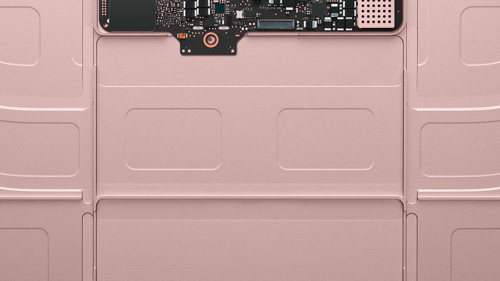 Au53 Inside Macbook Gold Apple Illustration Art Rose Gold