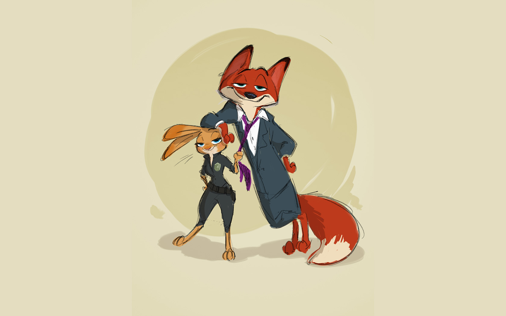 wallpaper for desktop, laptop | au54-zootopia-cute-animal ...
