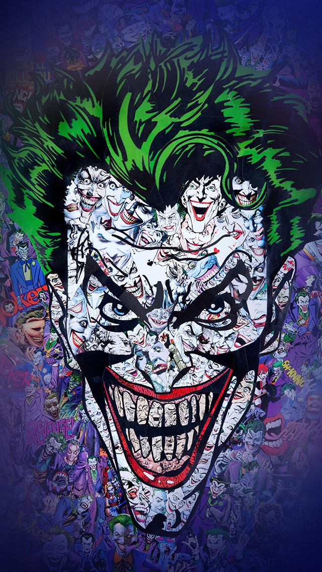 Freeios8com Iphone Wallpaper Au55 Joker Art Face