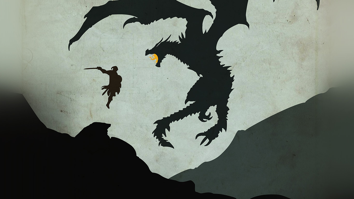 wallpaper-desktop-laptop-mac-macbook-au57-skyrim-dragon-illustration-art