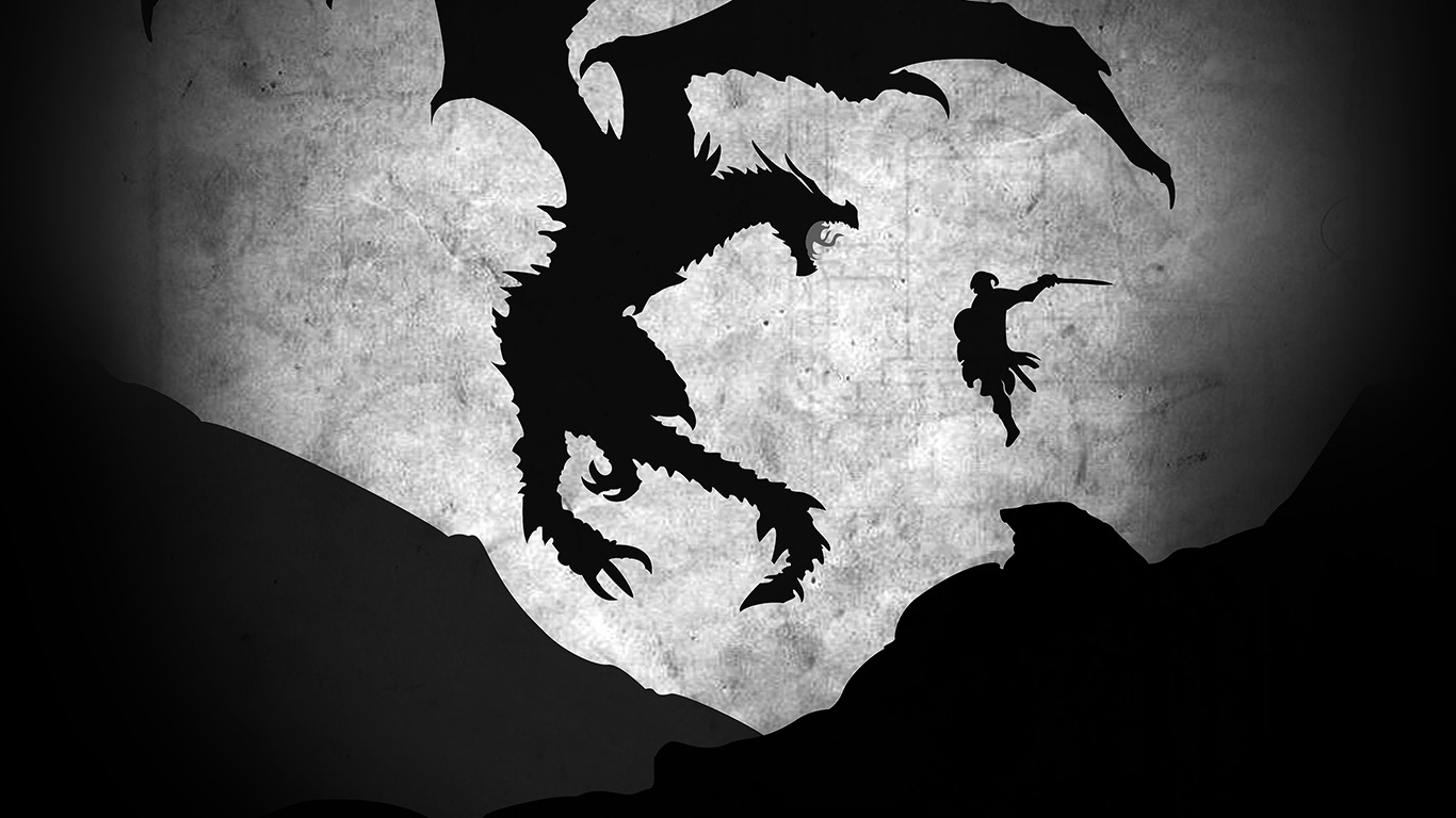 desktop-wallpaper-laptop-mac-macbook-air-au58-skyrim-dragon-illustration-art-bw-wallpaper
