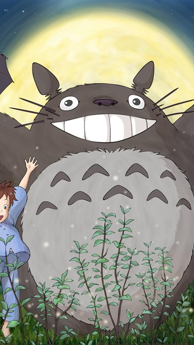 freeios8.com-iphone-4-5-6-plus-ipad-ios8-au59-totoro-forest-anime-cute-illustration-art