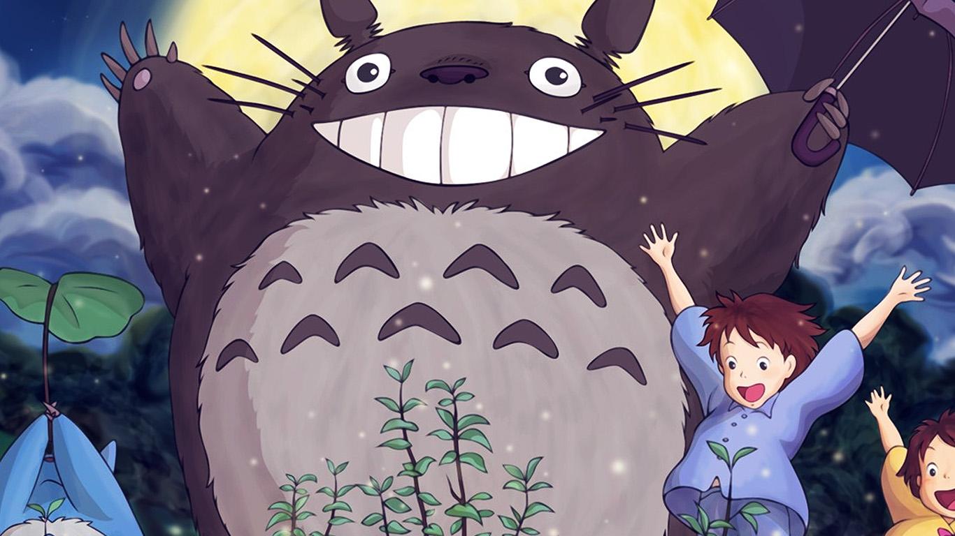 desktop-wallpaper-laptop-mac-macbook-air-au60-totoro-forest-anime-cute-illustration-art-blue-wallpaper
