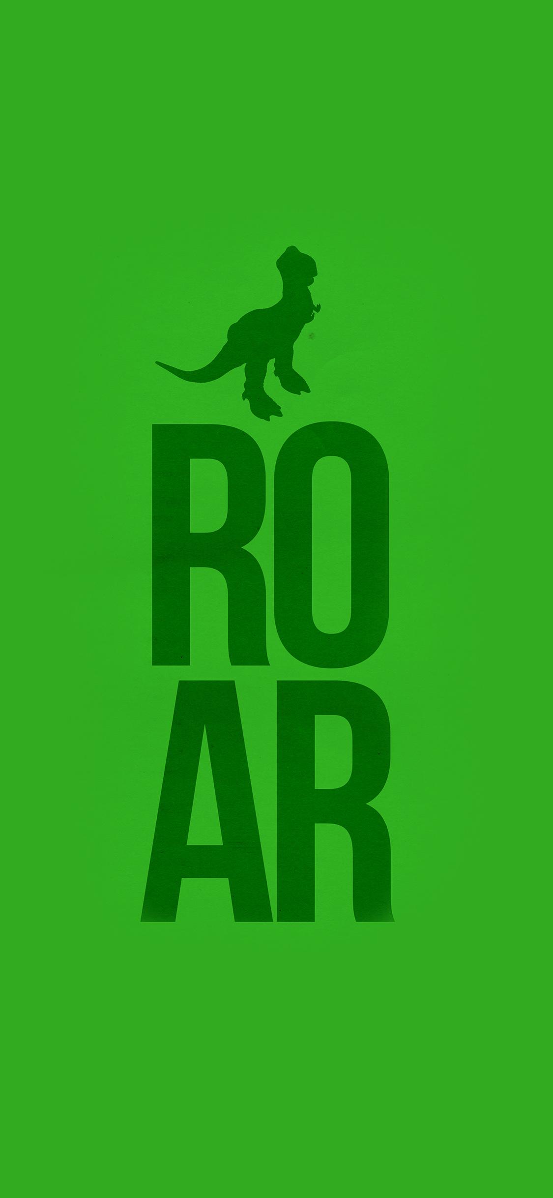 Iphonexpapers Com Iphone X Wallpaper Au61 Roar Toystory Green