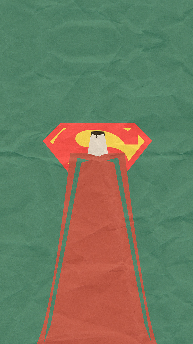 iPhone6papers.co-Apple-iPhone-6-iphone6-plus-wallpaper-au67-superman-minimal-art-illustration-art