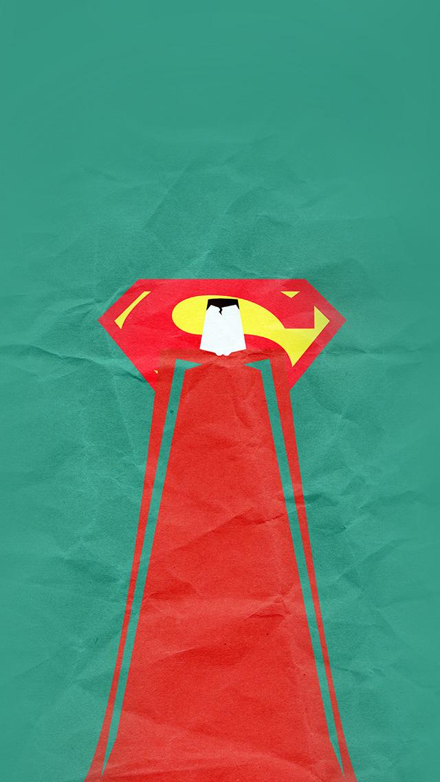freeios8.com-iphone-4-5-6-plus-ipad-ios8-au68-superman-minimal-art-illustration-art-green