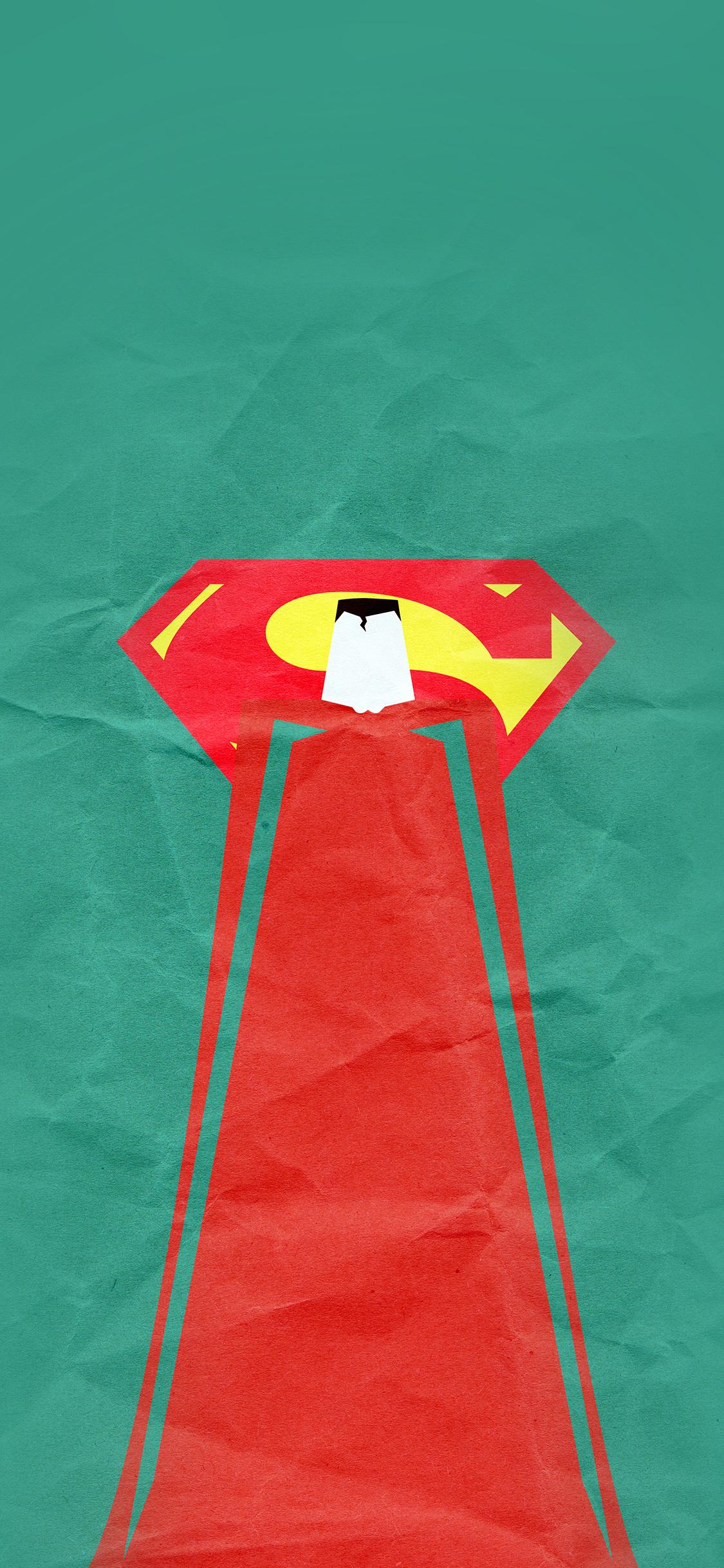 iPhoneXpapers.com-Apple-iPhone-wallpaper-au68-superman-minimal-art-illustration-art-green