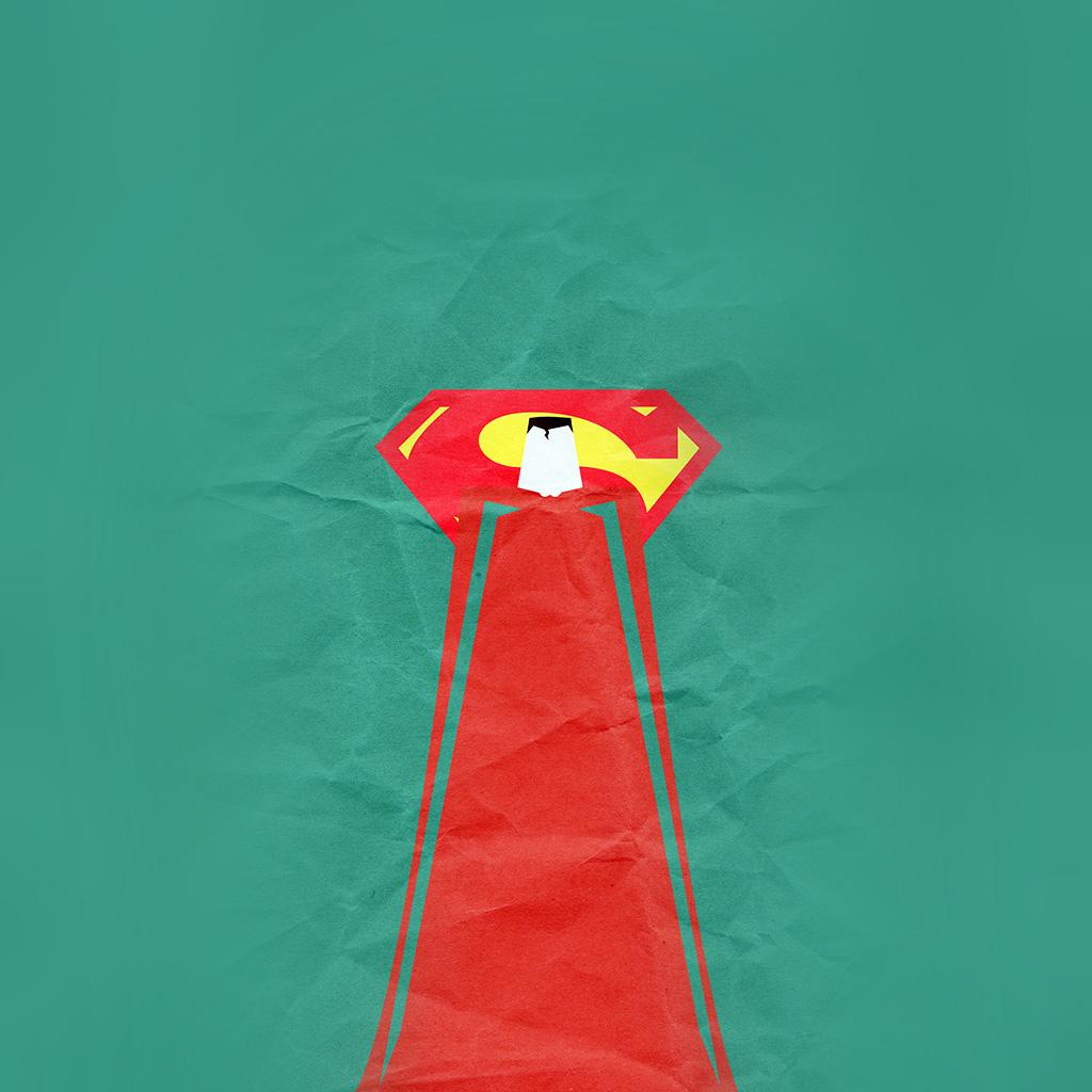 android-wallpaper-au68-superman-minimal-art-illustration-art-green-wallpaper
