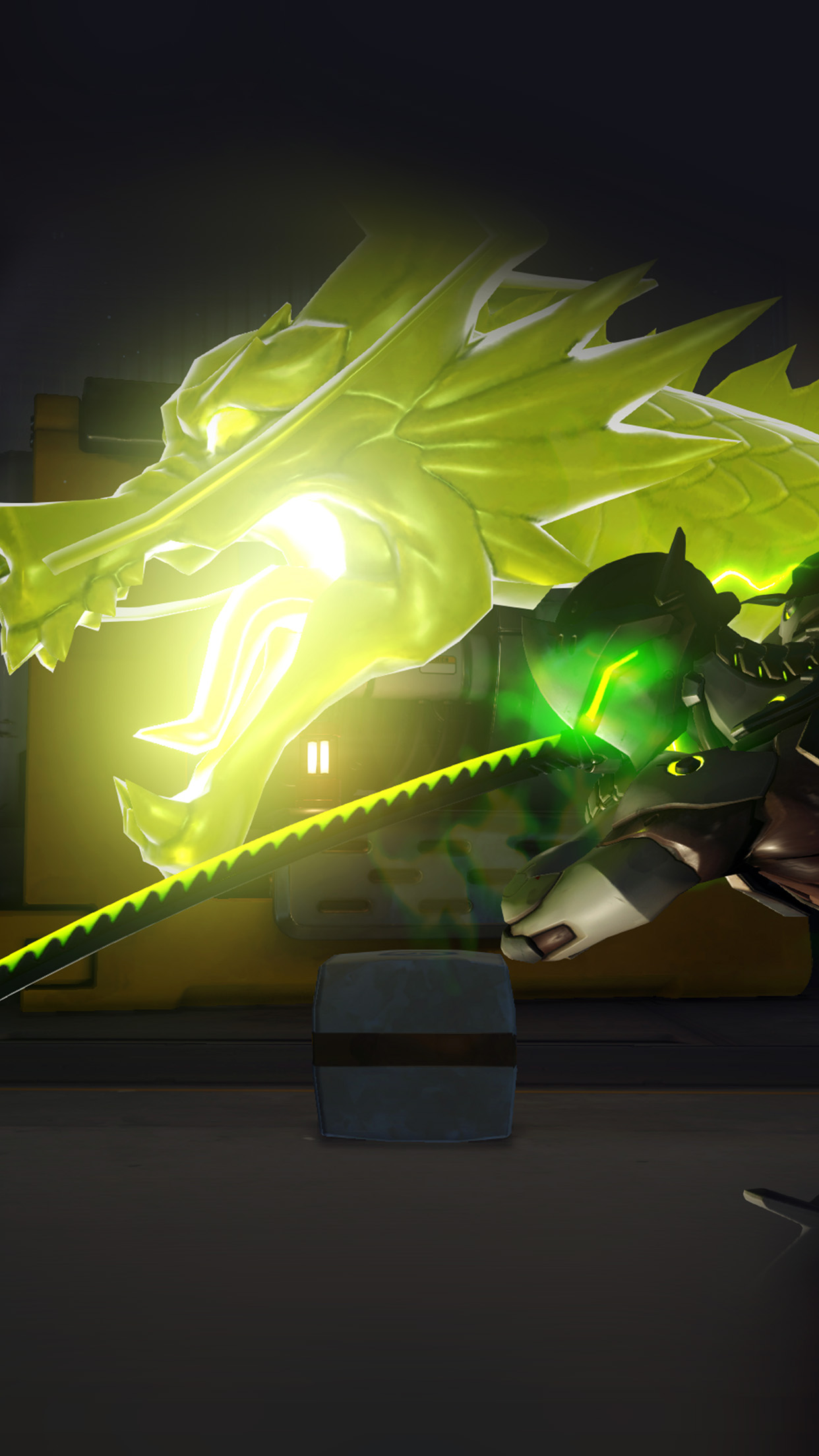 Au69 Genji Overwatch Dragon Anime Illustration Art Wallpaper
