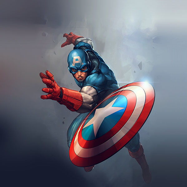 iPapers.co-Apple-iPhone-iPad-Macbook-iMac-wallpaper-au73-hero-captain-america-jeehyunglee-illustration-art-paint-wallpaper