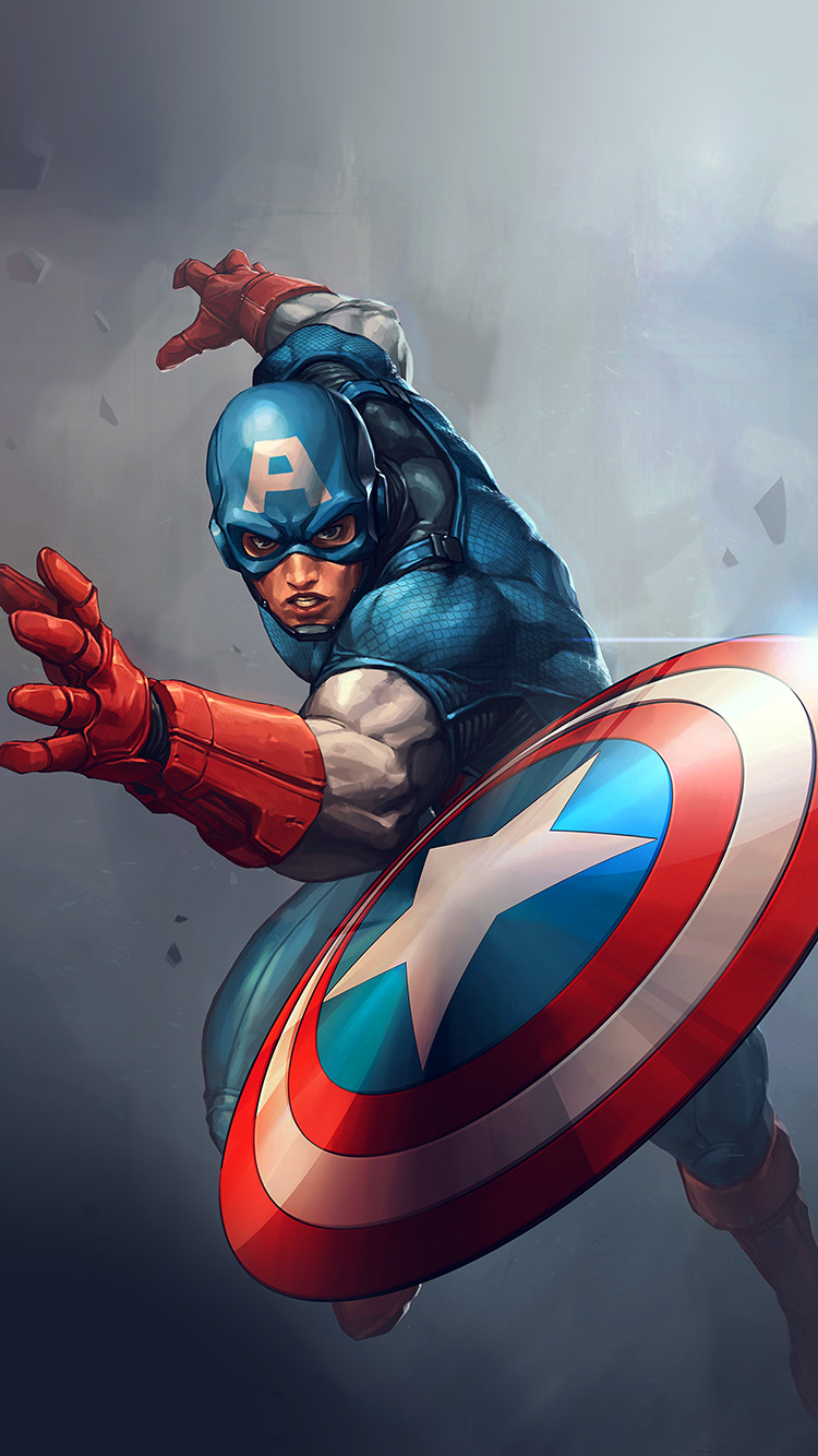 iPhone6papers.co-Apple-iPhone-6-iphone6-plus-wallpaper-au73-hero-captain-america-jeehyunglee-illustration-art-paint