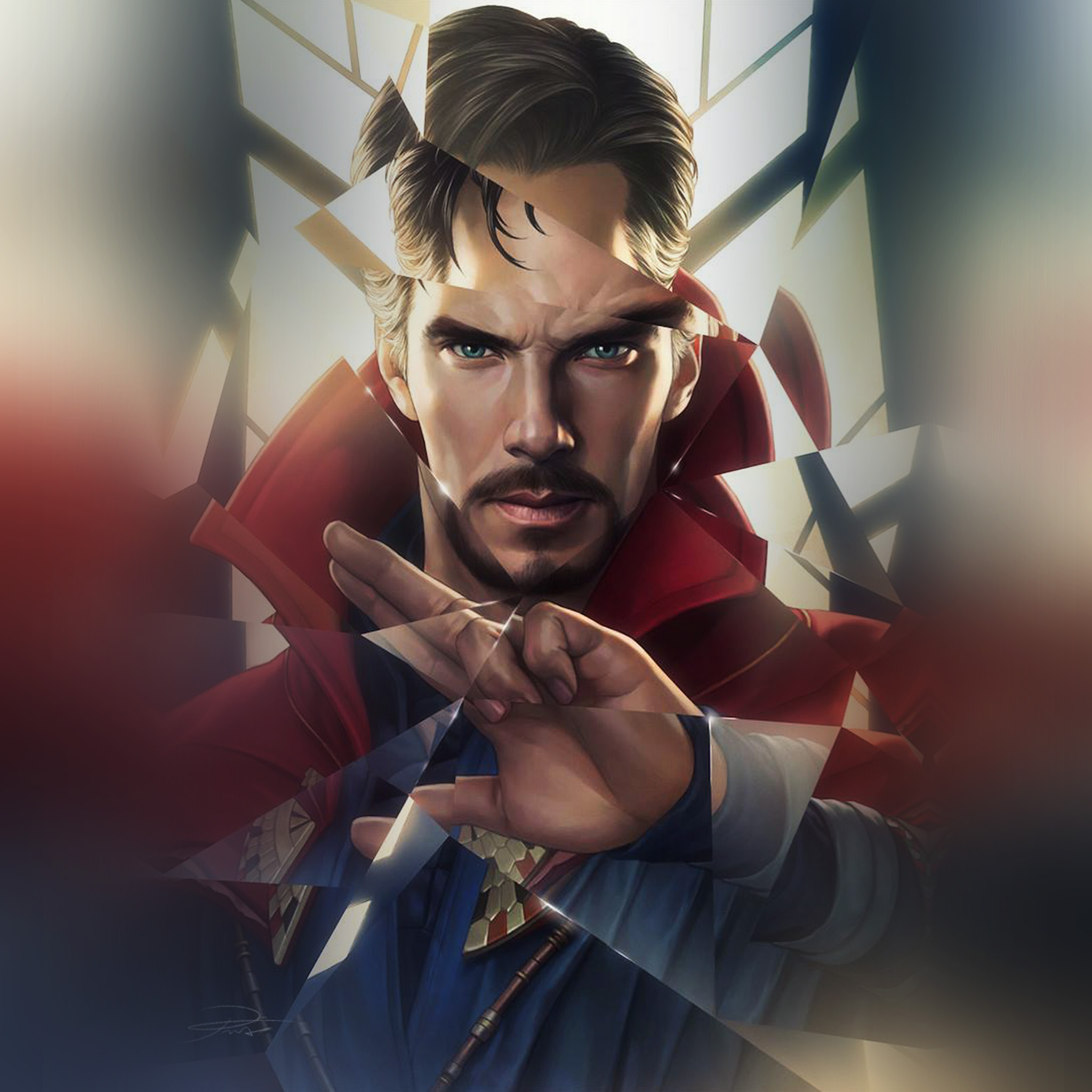 Au77-doctor-strange-hero-illustration-art