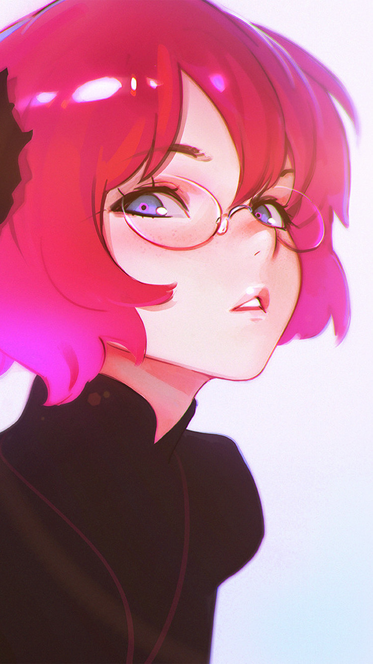 iPhone7papers.com-Apple-iPhone7-iphone7plus-wallpaper-av00-ilya-kuvshinov-girl-cute-pink-illustration-art-flare
