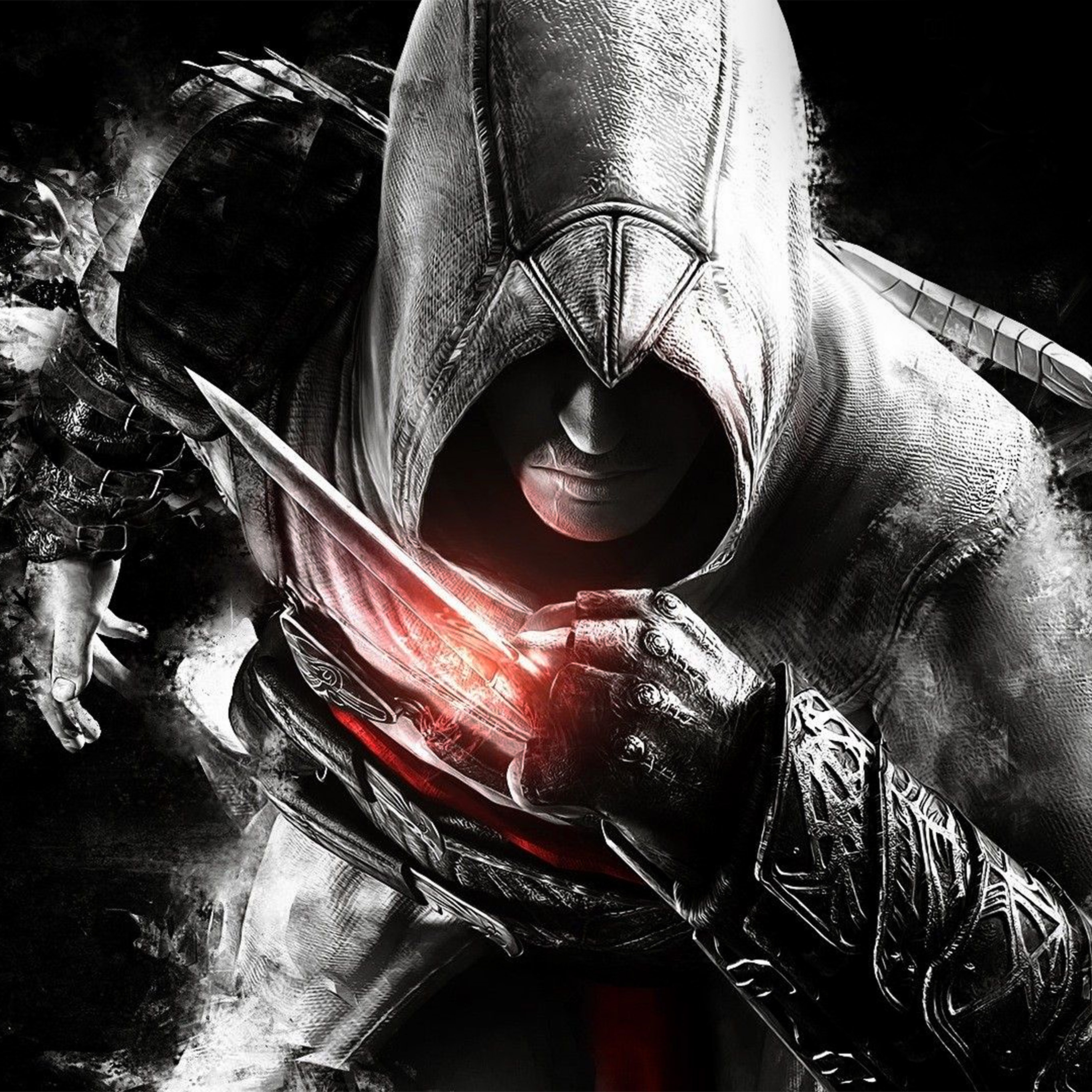 Av03 Assassins Creed Dark Game Hero Illustration Art Wallpaper