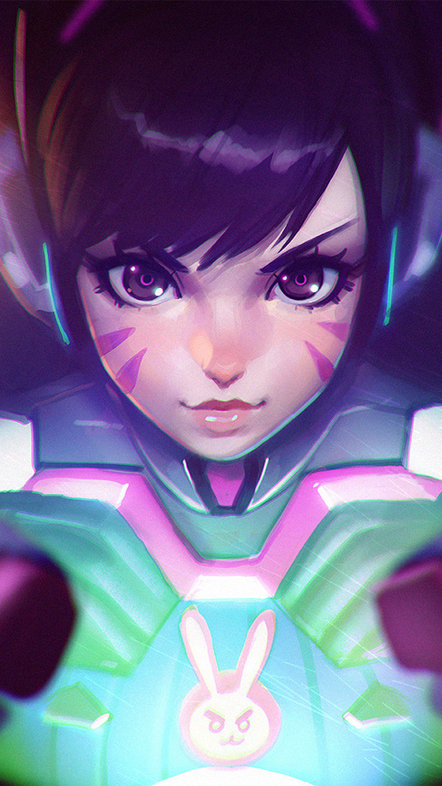 freeios8.com-iphone-4-5-6-plus-ipad-ios8-av06-dva-cute-game-overwatch-illustration-art