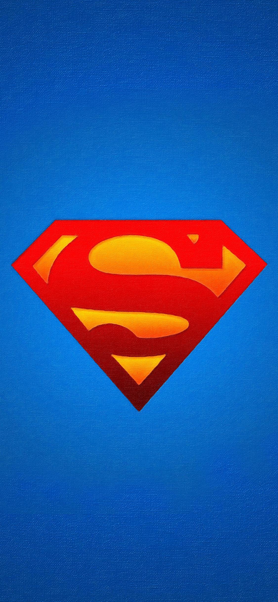 iPhoneXpapers.com-Apple-iPhone-wallpaper-av27-logo-superman-blue-red-hero-illustration-art