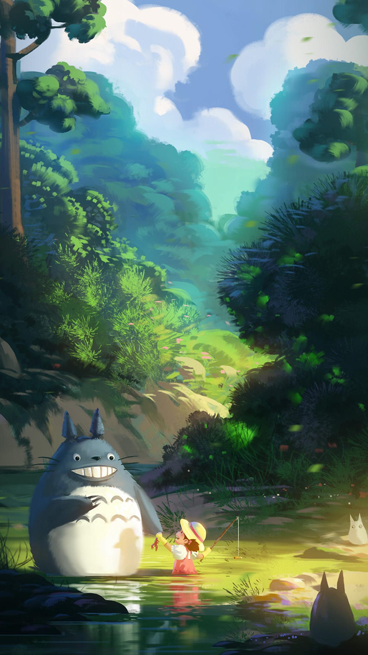 Av33 Totoro Anime Liang Xing Illustration Art