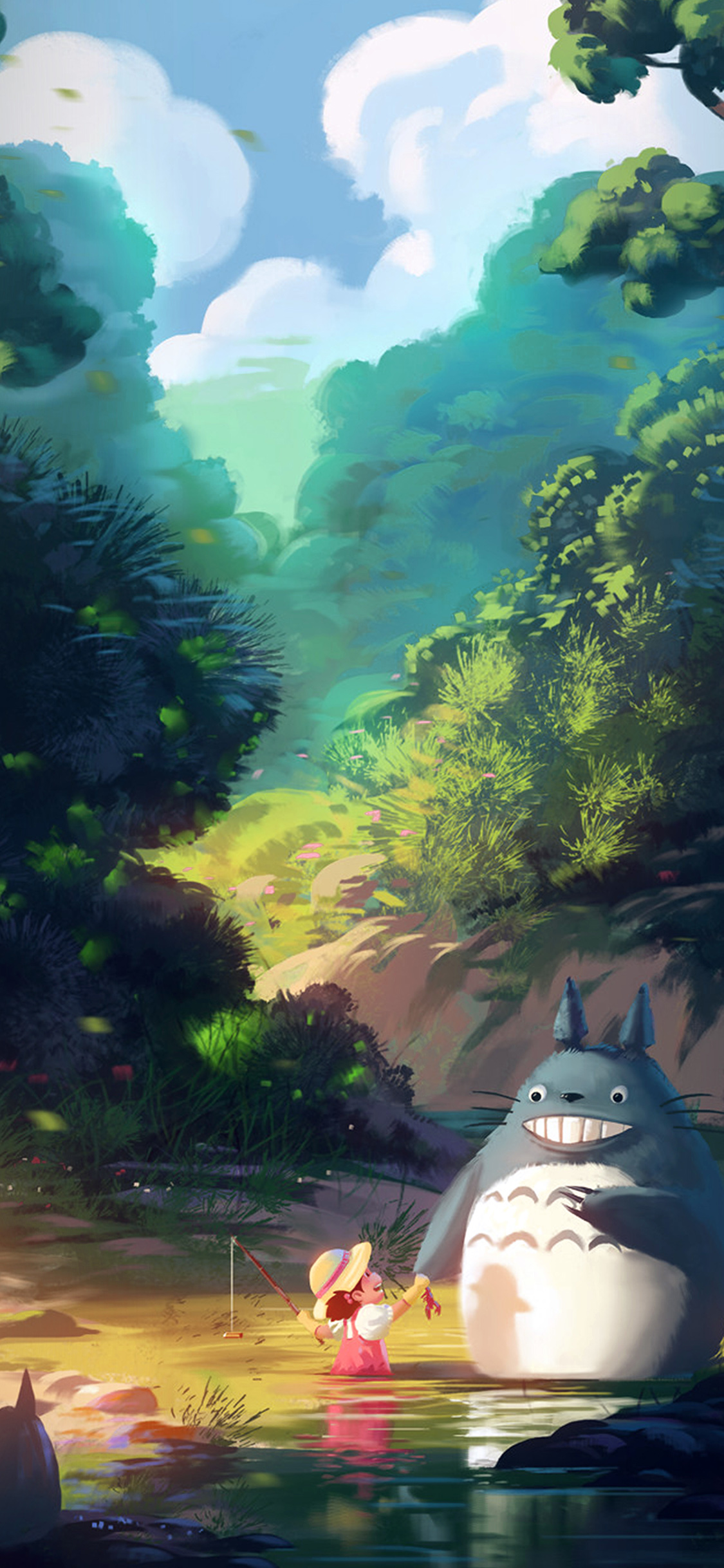iPhonexpapers.com-Apple-iPhone-wallpaper-av34-totoro-anime-liang-xing-illustration-art-blue