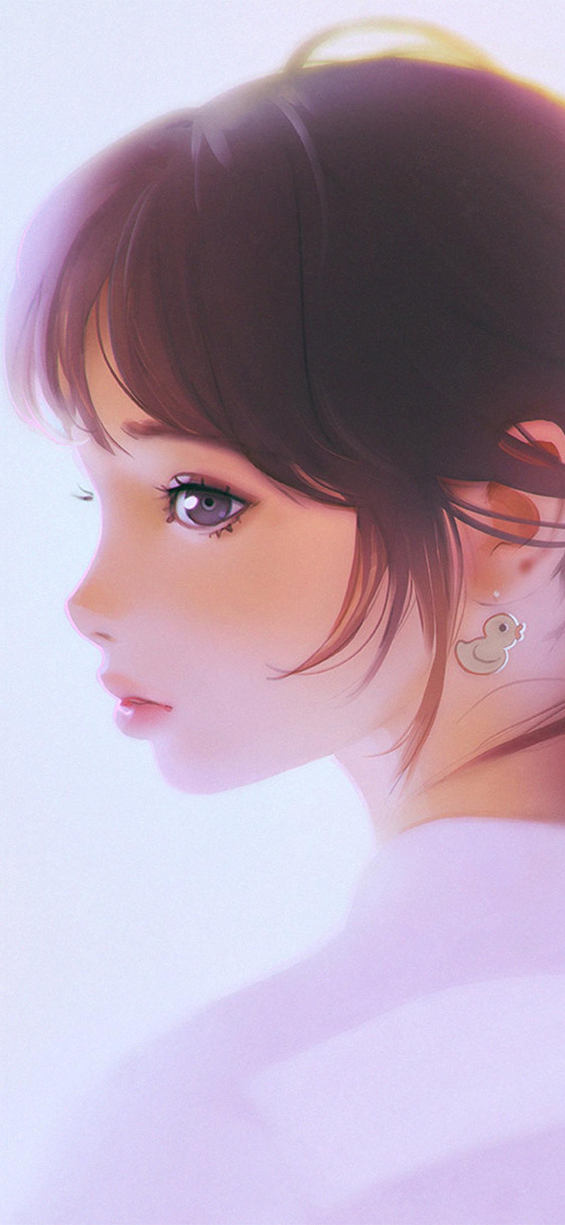 iPhoneXpapers.com-Apple-iPhone-wallpaper-av41-girl-face-cute-ilya-kuvshinov-illustration-art