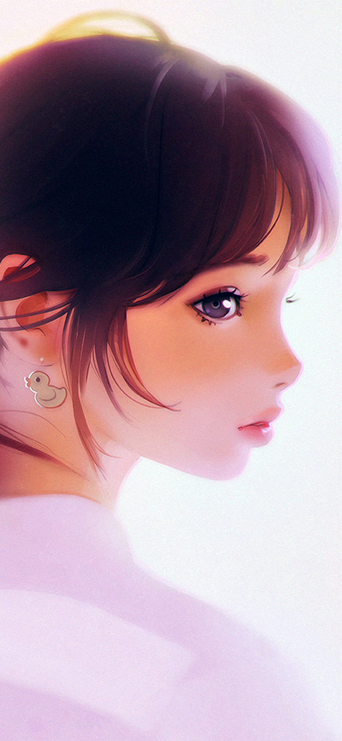 iPhoneXpapers.com-Apple-iPhone-wallpaper-av42-girl-face-cute-ilya-kuvshinov-illustration-art-white
