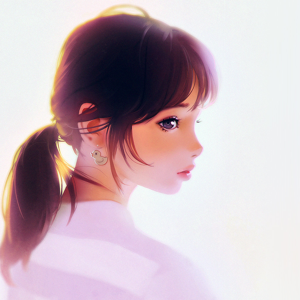 wallpaper-av42-girl-face-cute-ilya-kuvshinov-illustration-art-white-wallpaper