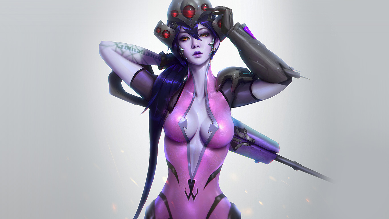 desktop-wallpaper-laptop-mac-macbook-air-av46-overwatch-widowmaker-paul-kwon-illustration-art-wallpaper