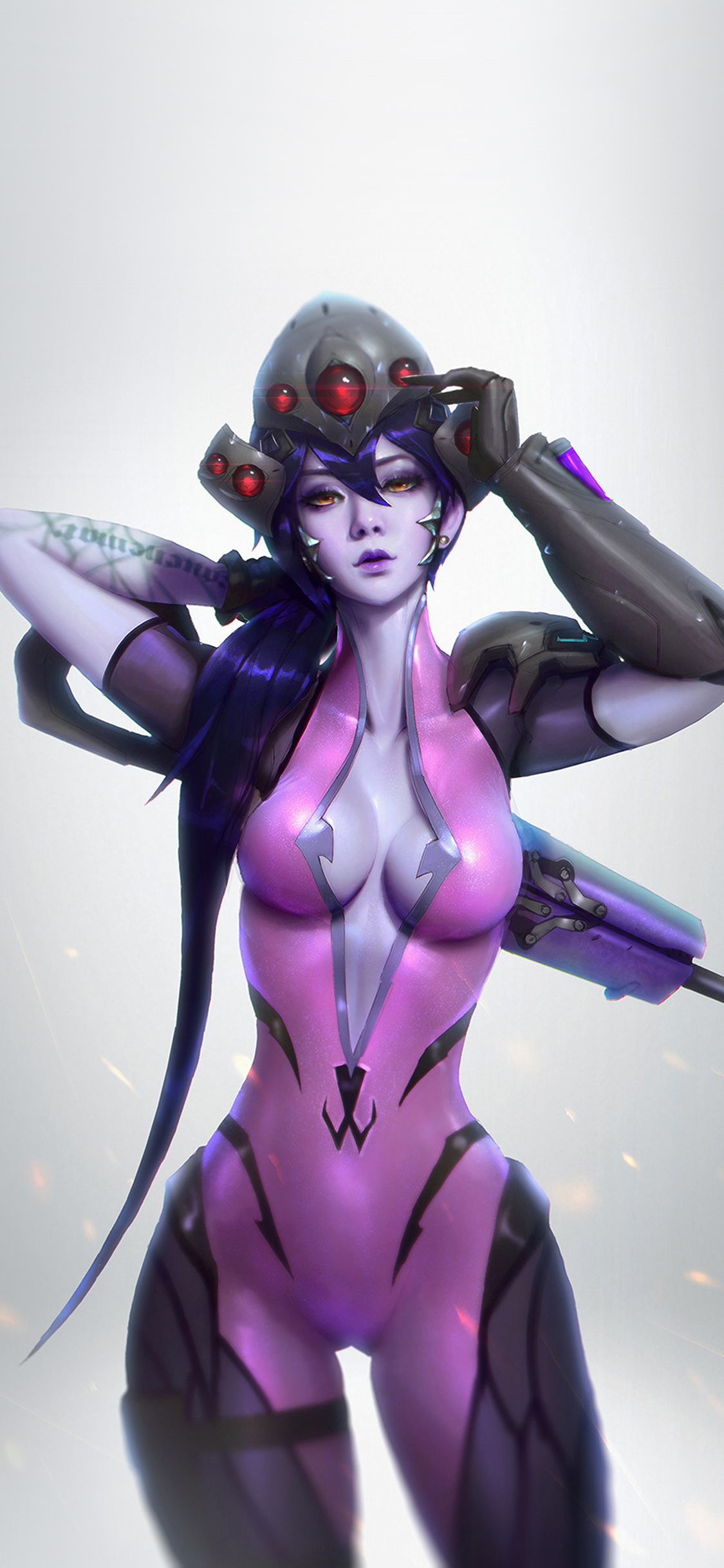 iPhoneXpapers.com-Apple-iPhone-wallpaper-av46-overwatch-widowmaker-paul-kwon-illustration-art
