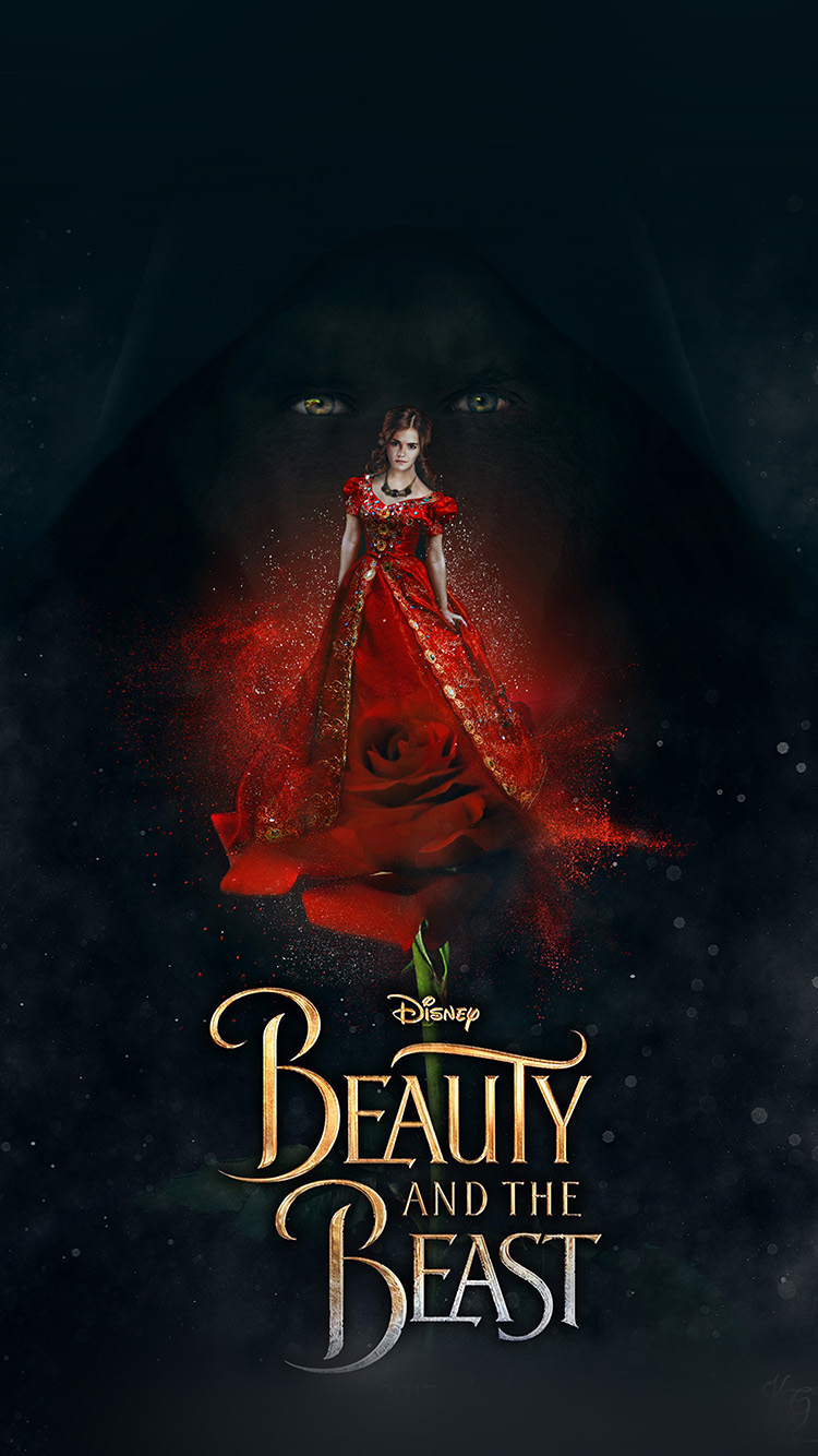 iPhonepapers.com-Apple-iPhone8-wallpaper-av47-disney-beauty-beast-poster-illustration-art