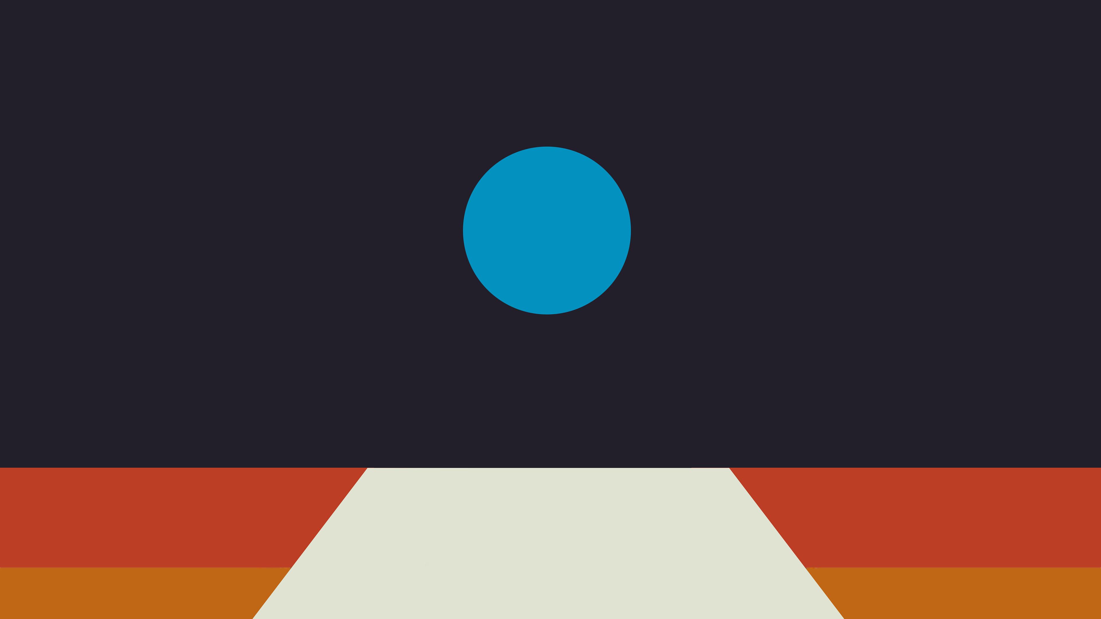 Av63 Tycho Art Blue Illustration Art Abstract Minimal Wallpaper