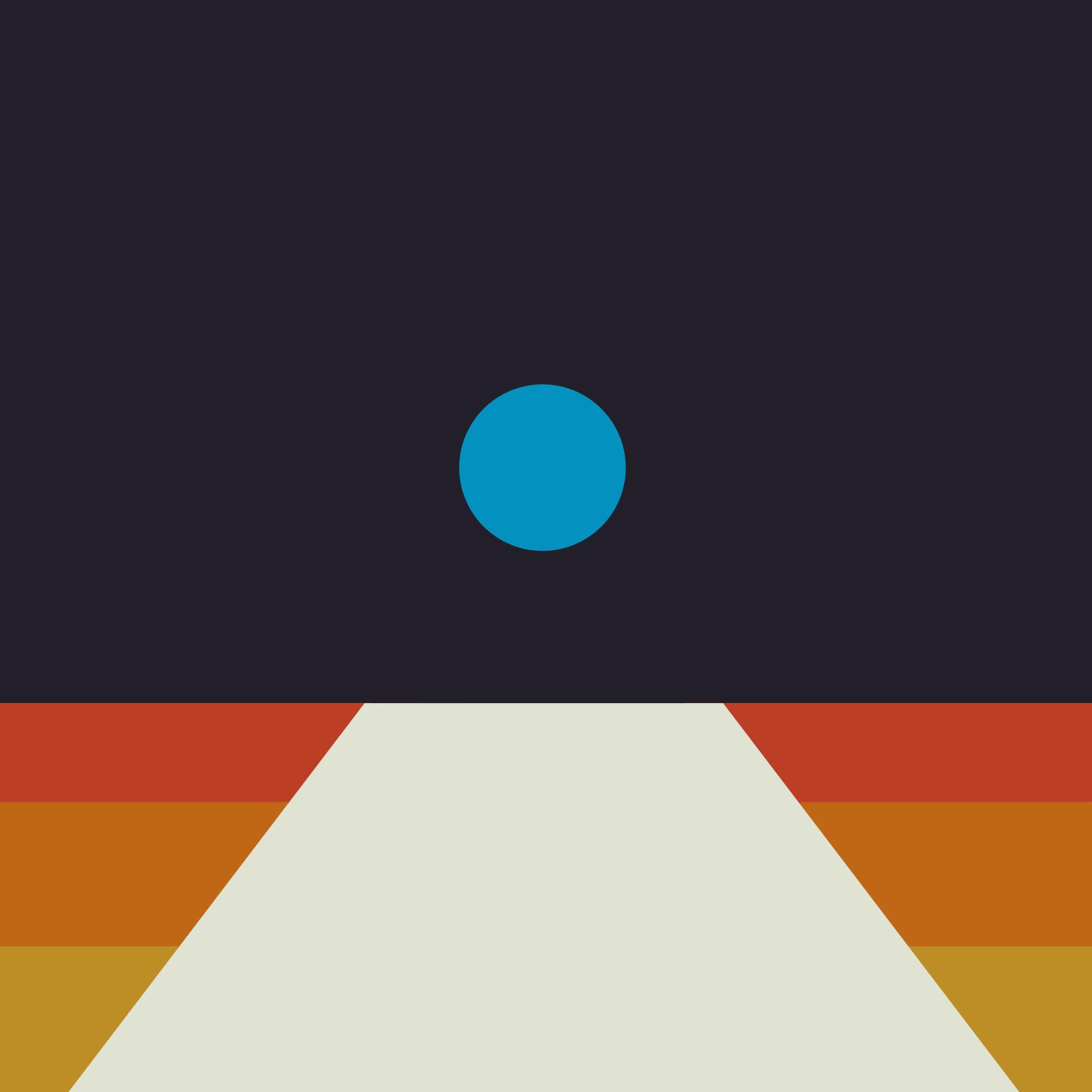 Av63 tycho art blue illustration art abstract minimal for Minimal art essay