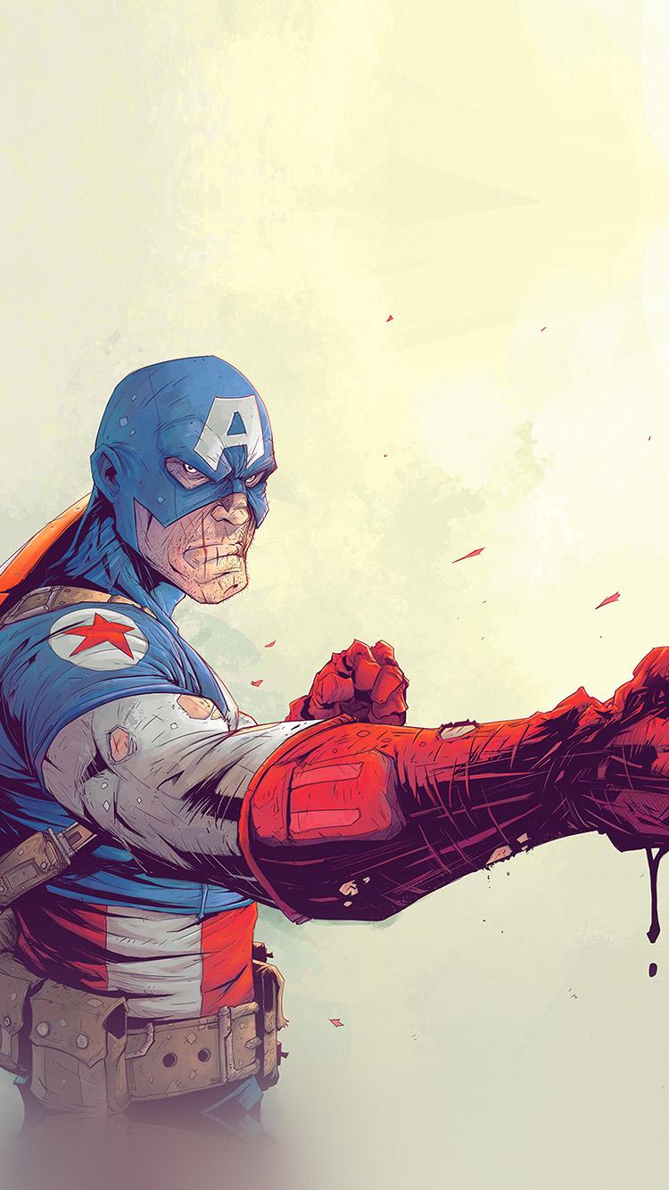 Papers.co-iPhone5-iphone6-plus-wallpaper-av68-toronto-revolver-illustration-art-anime-hero-captain-america